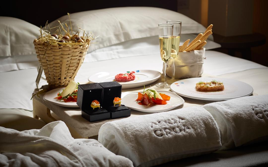 Una notte gourmet: la nuova proposta di Aqua Crua